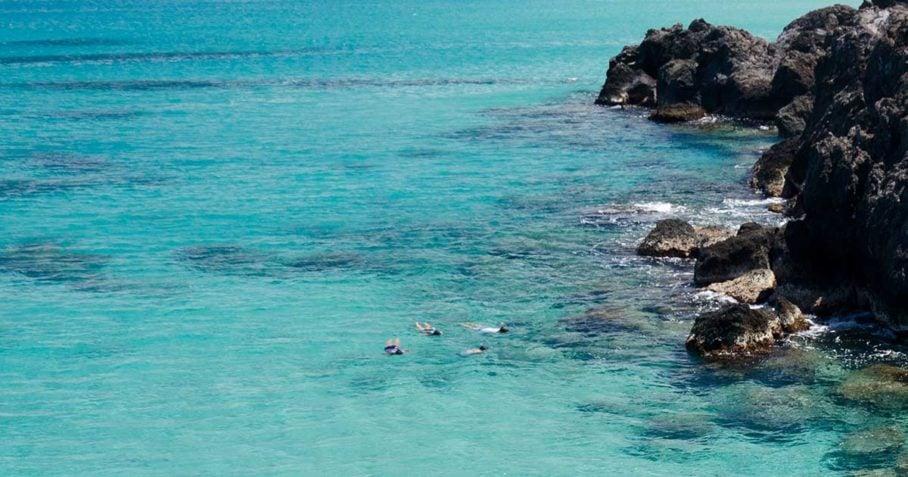 maui family snorkeling