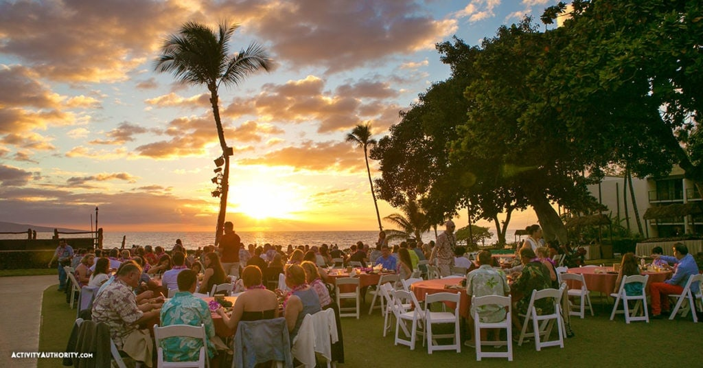 Wailea marriott sunset