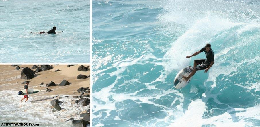 Surf Lesson Cove