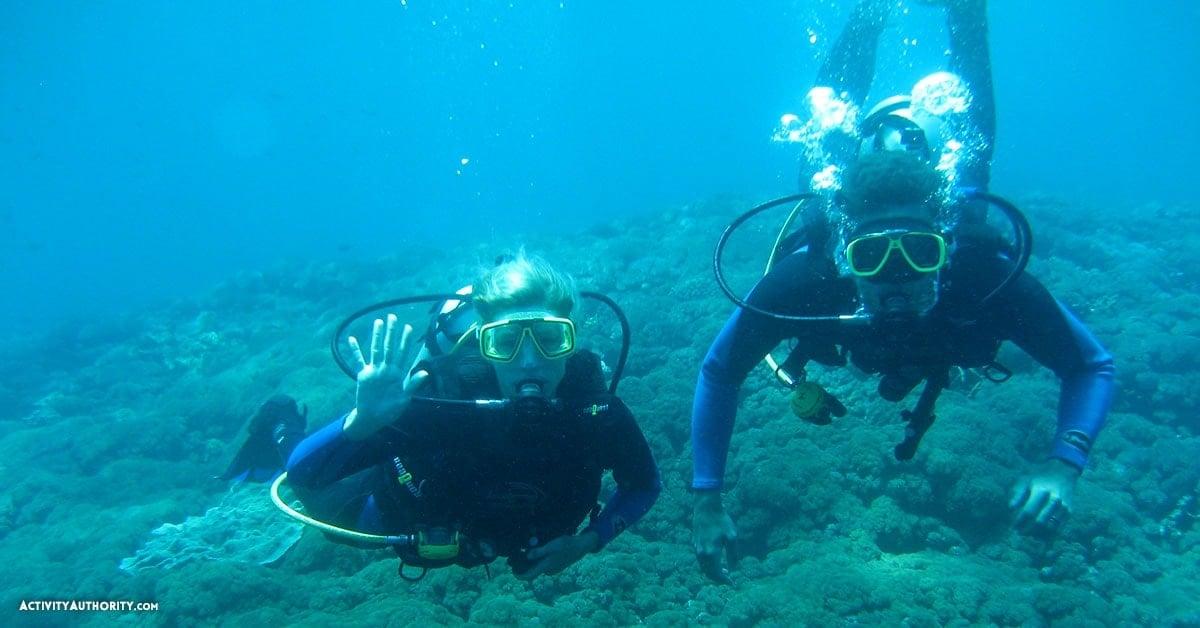 Maui scuba diving course