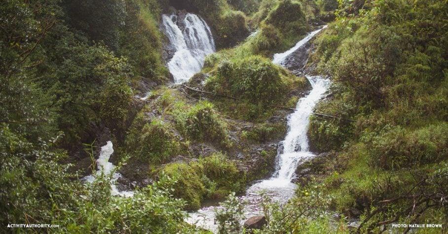 Waterfalls in Hana, Maui, Hawaii