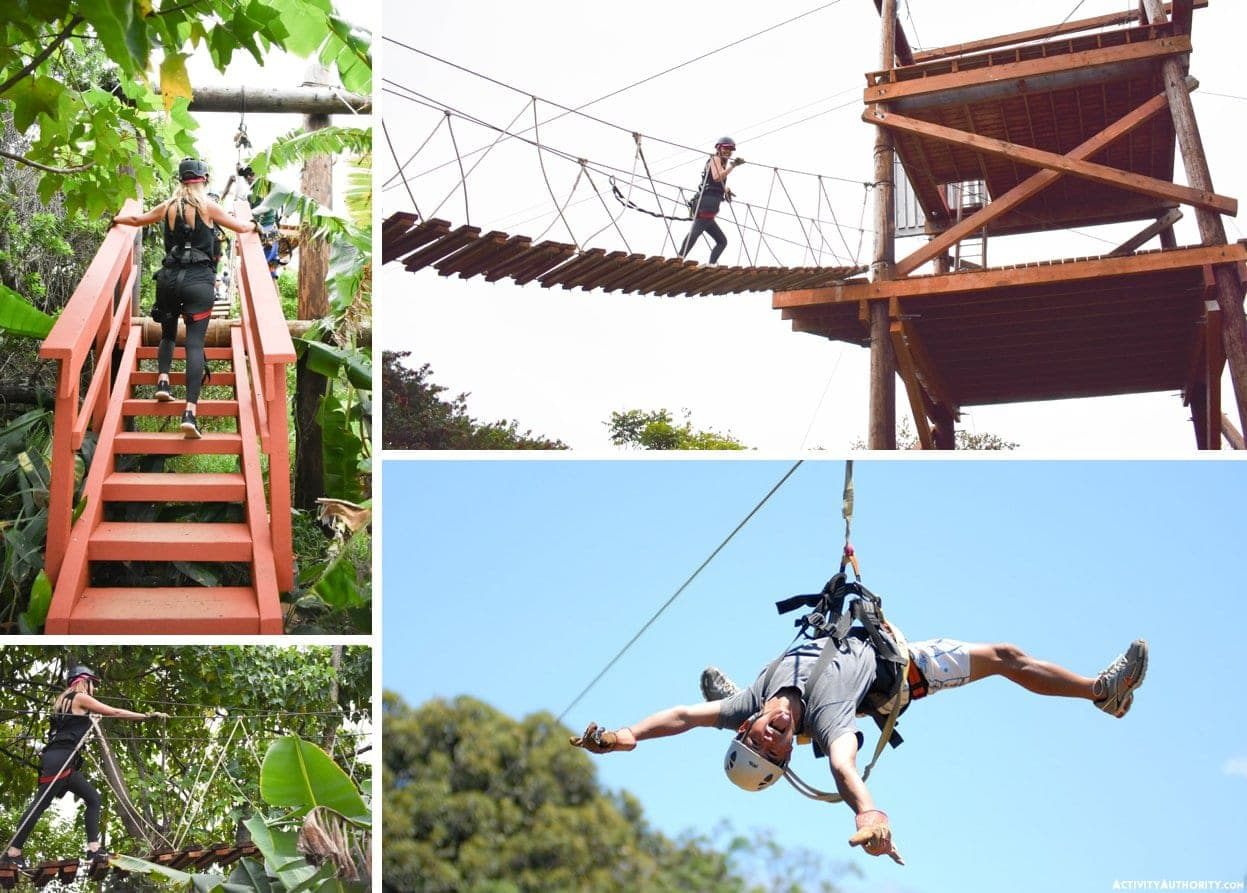 north shore zipline photos